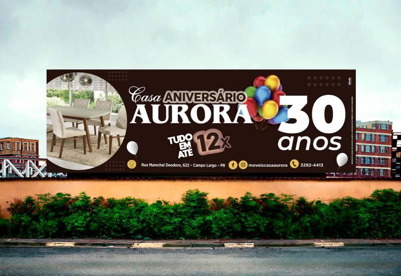 30 anos Casa Aurora