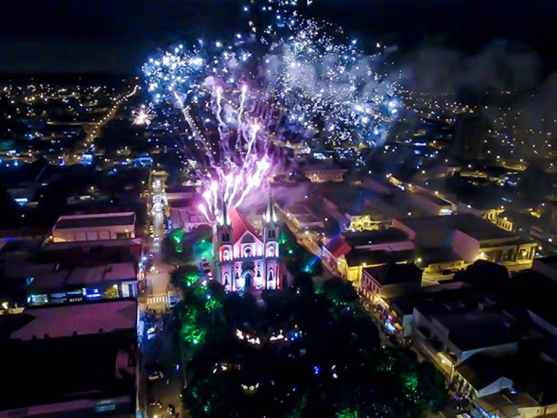 Espetáculo energia do Natal é sucesso de público